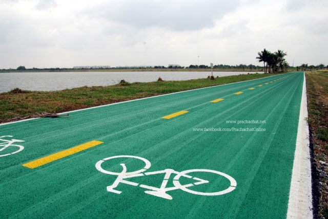 Bike Track Opens in Suvarnabhumi